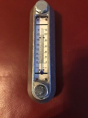 5 Reservoir Sight Level Gauge W Thermometer