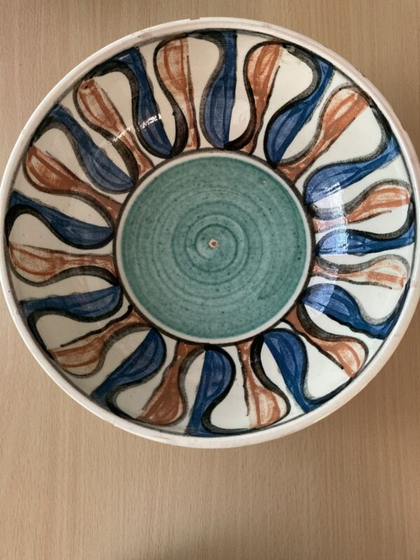 Vintage Alma Keramik Denmark Pottery Bowl