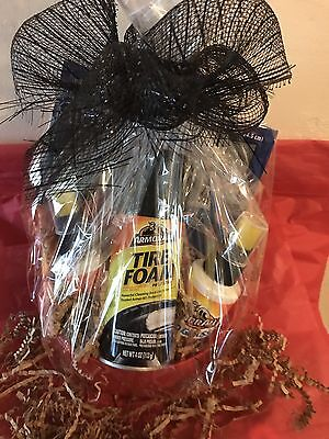 """Men's Fathers Day """"Armor-All Car  Detail Kit """"Gift Basket/Birthday, Graduation"""