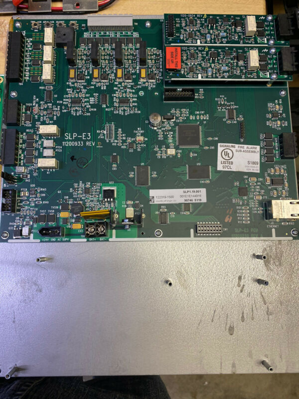 GAMEWELL FCI  SLP-E3 MAIN BOARD CPU
