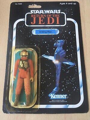 Vintage Star Wars B-Wing Pilot ROTJ  77 Back Moc.