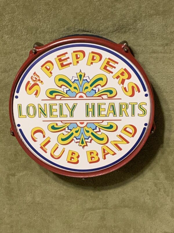 """12"""" Sgt. Pepper's Lonely Hearts Club Band Drum"""