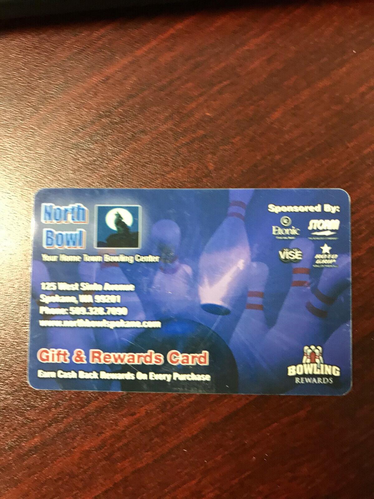 North Bowl -- Spokane, WA -- Gift Card 10 - $4.00