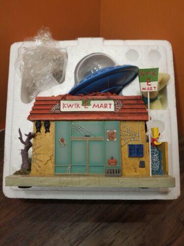 NEW Hawthorne The Simpsons Halloween Village Kwik-E-Mart Shoo Shoo Apu Accessory