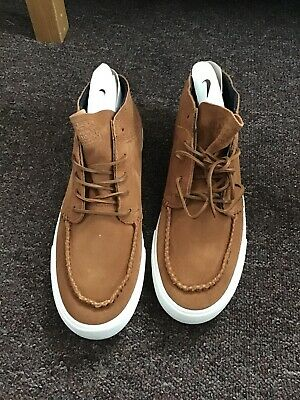 Nike Zoom Janoski Mid RM Crafted Skate Shoes British Tan UK size 10 RRP £65