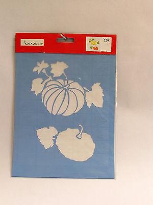 Easy Pumpkin Stencils (CALAMBOUR COLLEZIONE EASY - STENCIL A4 21x29,7cm - ZUCCHE -)