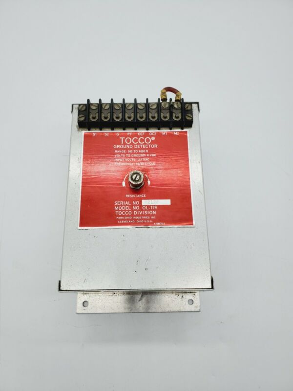 Tocco Ground Detector OL-179 500-4000 OHMS