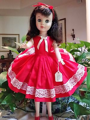 "MADAME ALEXANDER "" POLLY""  DOLL 17'' ALSO  ELISE DRESS ALEXANDER TAGGED VINTAGE"