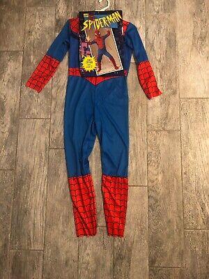 Kids Amazing Spider Man Costume (The Amazing Spider-Man Child 7-10 Costume Disguise Inc Marvel 1994)