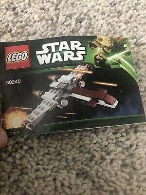 LEGO Star Wars 30240 Z-95 Headhunter - 100% Complete with Manual