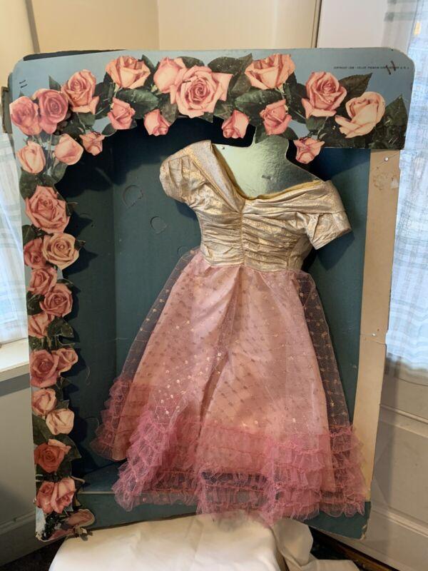 vintage DISPLAY for DeLuxe Premium Cinderella Grocery Store vinyl doll