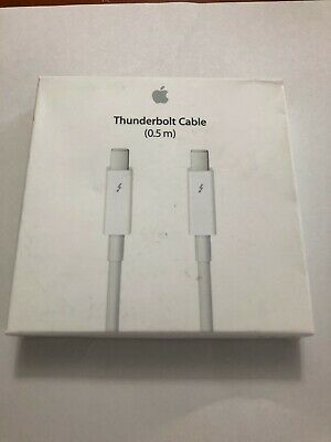 Authentic Apple Thunderbolt Cable (0.5m) White MD862LL/A