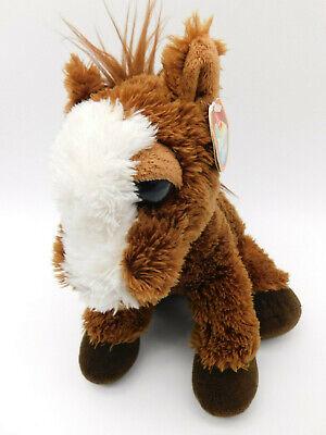 Aurora Dreamy Eyes Stuffed Plush Brown White Prancer Pony Horse With Tags 9in Aurora Dreamy Eyes Plush
