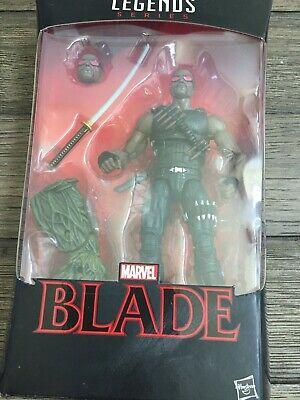 Marvel Legends MCU Blade New w/ Man-Thing BAF Avengers Spiderman Punisher