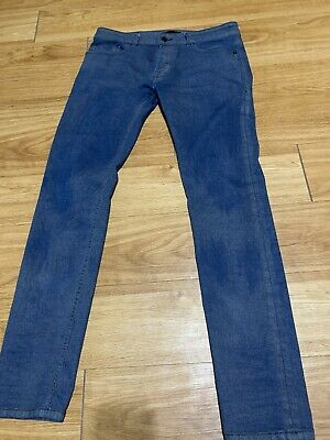 Mens Diesel Black Gold Sz 32x30 Jeans