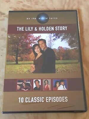 """As The World Turns """"The Lily & Holden Story"""" DVD 10 Episodes On 2 DIscs RARE"""