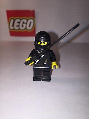 Lego Black Shogun 1186 6093 4805 6083 6013 Ninja Castle Minifigure Figure Mint!