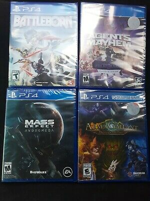 Playstation 4 Game Lot,PS4 Games Lot