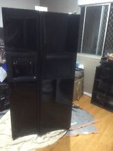 American made GE black gloss fridge 661ltr Zillmere Brisbane North East Preview