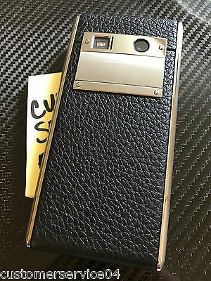 Authentic Vertu ASTER Onyx CALF Hateful Wonderful RARE Trade-mark NEW in BOX A Gotta Have!