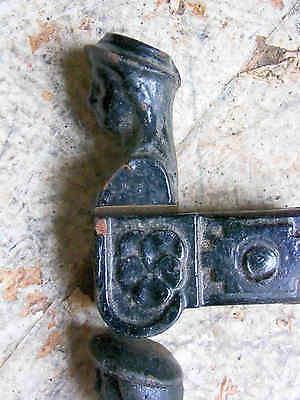 3 Antike Fensterladenhalter Eisen Guss Klappladenhalter L 120 mm Ladenhalter Stu