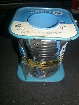 Belden 8869  17kv High-voltage Lead  25 Ft Spool