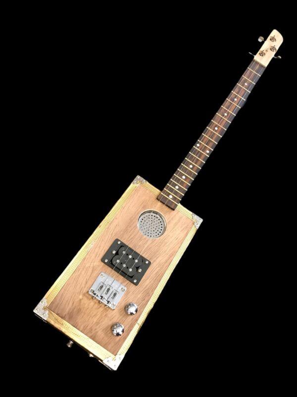 Premium Cigar Box Guitar.