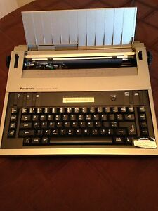 Electric Typewriter Panasonic KX-R 200....$80