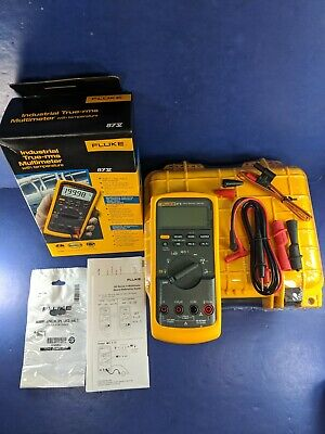 New Fluke 87v Trms Multimeter Screen Protector Original Box Case