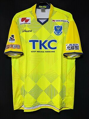 2018 TOCHIGI SC Home J2.League Jersey Soccer Shirt 2XO(Japan Size) ATHLETA image