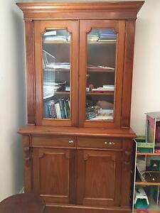 Antique Tasmanian Cedar  Bookcase / cabinet North Avoca Gosford Area Preview