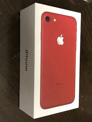 NEW Apple iPhone 7 - 128GB - Red (Unlocked) A1778 (GSM)