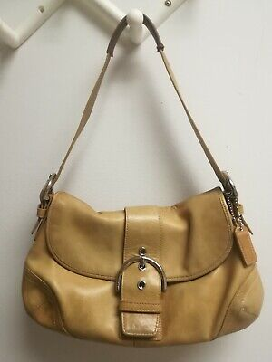 Coach Leather Tan Soho Hobo Bag Purse 9248 Vintage
