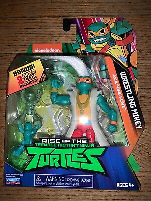 Playmates Toys Nickelodeon Rise of the TMNT WRESTLING MIKEY AKA ONE LOVE