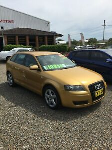 2007 AUDI A3 SPORTBACK / AUTO / VERY LOW KMS Redhead Lake Macquarie Area Preview
