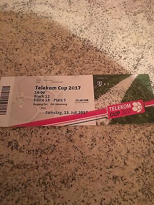 Sammler Ticket Telekom-Cup 2017 In Mönchengladbach FC Bayern München