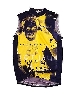 LeMond Medium Zip Sleeveless Cycling Bike Bicycle Jersey USA Legendary e7e8bbb5b