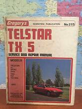 Telstar TX 5 Gregorys service and repair manual No 215 Cleveland Redland Area Preview