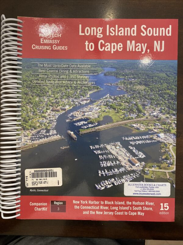 MAPTECH Long Island Sound to Cape May, NJ - 15th Edition