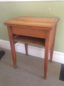 Antique Sewing Table. Makes A Nice Side Table