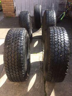 4x4 Tyers