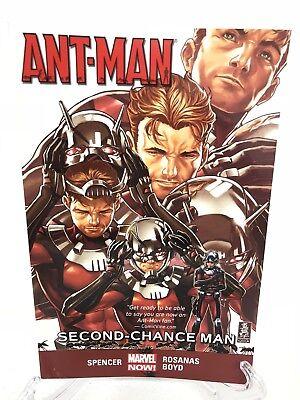 Ant-Man Volume 1 Second-Chance Man Collects #1-5 Marvel Comics TPB Paperback (Ant Man Vol 1 Second Chance Man)