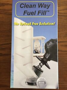 Clean way fuel fill kit - new in the box