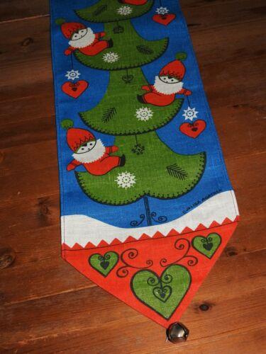 """""""Frösö Handtryck"""" Cute Vintage Christmas Swedish Bell Pull (Evalisa Agathon)"""