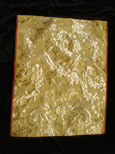 antique french 18th c style gold brocade
