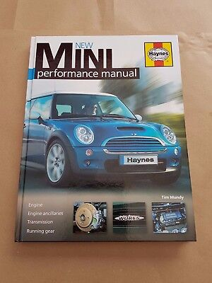 Haynes New Mini Performance Manual by Tim Mundy (Hardback Book, 2008).