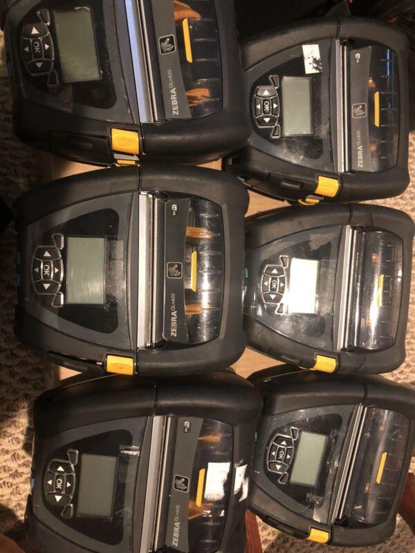 Zebra QLN420 Direct Thermal Mobile Printer WiFi  Bluetooth
