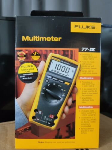 FLUKE Digital Multimeter 77-IV NEW IN BOX