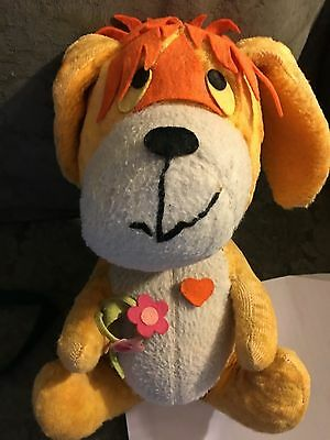 "Dardenelle Pillow Dog 13"" Plush Vintage Stuffed Animal Toy 60's?"