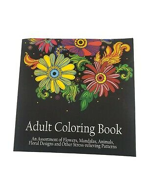 Coloring Book Of Animals (Adult Coloring Book: An Assortment of Flowers Mandalas Animals & Floral)